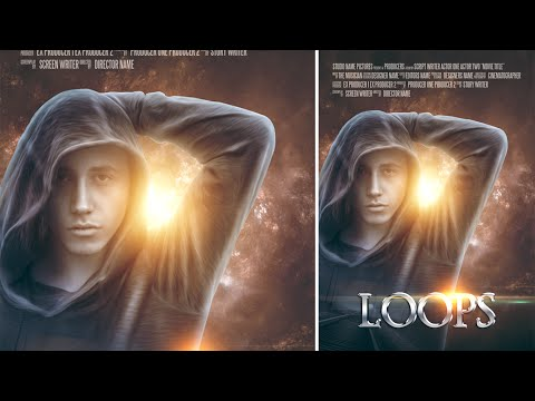 Photoshop Tutorial | Film Afiş Tasarımı | Fotoğraf Düzenleme