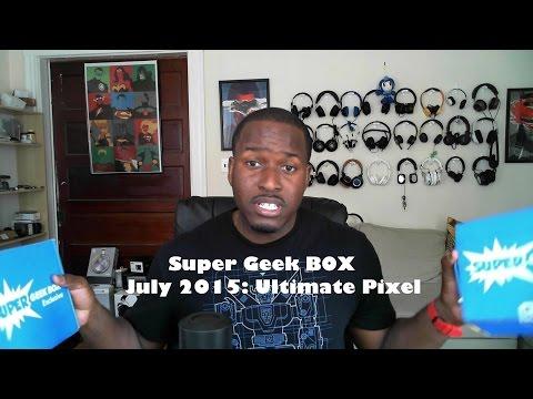 Süper Geek Kutusu Temmuz 2015 Unboxing: Son Piksel