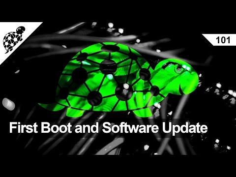 Lan Kaplumbağa 101 - İlk Çizme Ve Yazılım Güncelleştirmesi