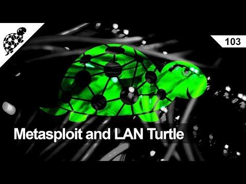 Lan Kaplumbağa 103 - Metasploit Ve Lan Kaplumbağa Meterpreter İle