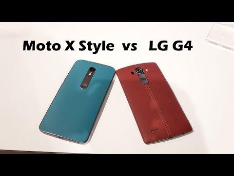 Moto X Tarzı Vs Lg G4