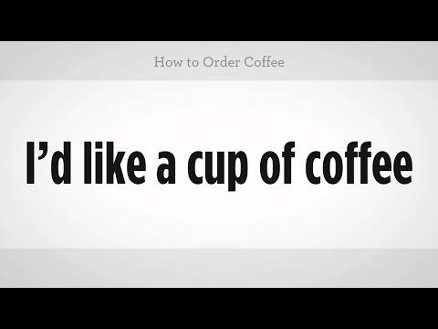 Nasıl Mandarin Çince Kahve | Sipariş
