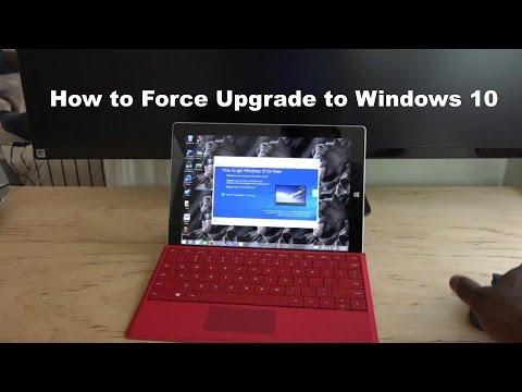 Nasıl Yükseltme Windows 10 İçin Zorunlu Hale
