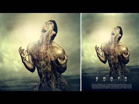 Photoshop İşleme | Film Afiş Tasarımı | Kökleri Fotoğraf Efektleri