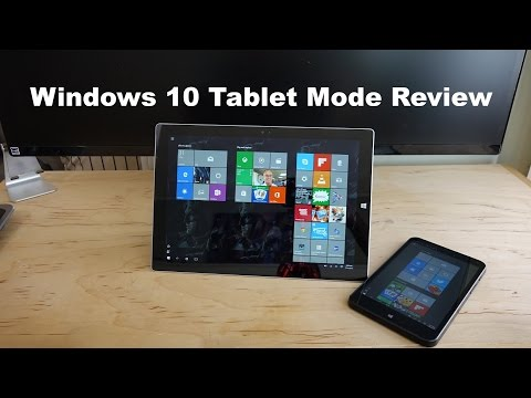 Windows 10 Tablet Modu İnceleme