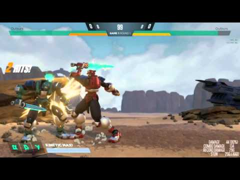 Yükselen Thunder Edge Ve Dauntless Tarak, Mixups Ve Sıfırlar