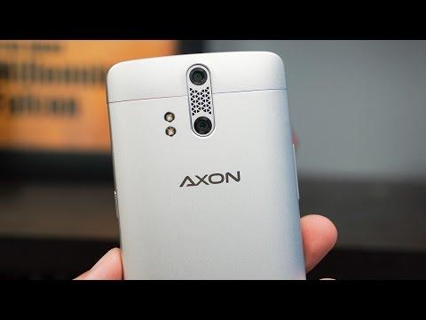 Zte Axon Unboxing Ve İzlenimler!