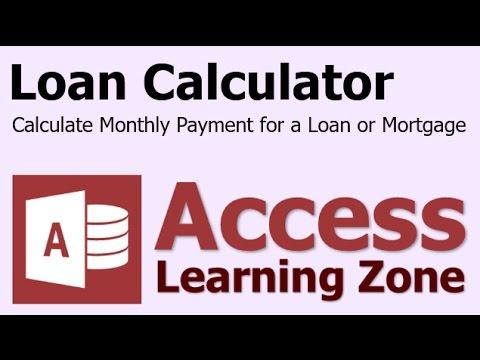 Microsoft Access Kredi Ödeme Hesap Makinesi Devresel_Ödeme İşlevi