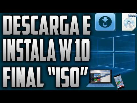 """Descargar E Instalar Wındows 10 Pro """"ıso"""""""