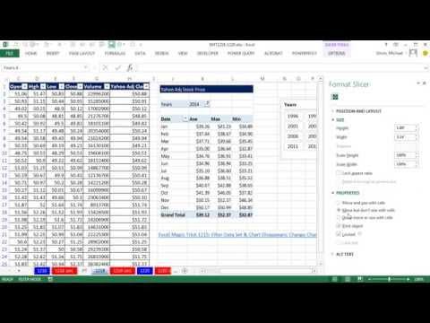 Excel Büyü Hüner 1219: Özel Bağlantılı Özet Tablo Gizli Ne Zaman Filtre Uygulanmış Değil Bu Yüzden Resim Yapıştır