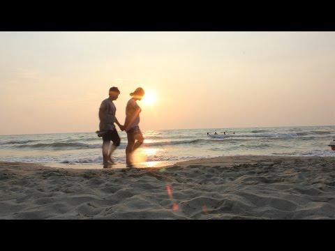 Qerret, Arnavutluk 2015 Beach'te | Timelapse
