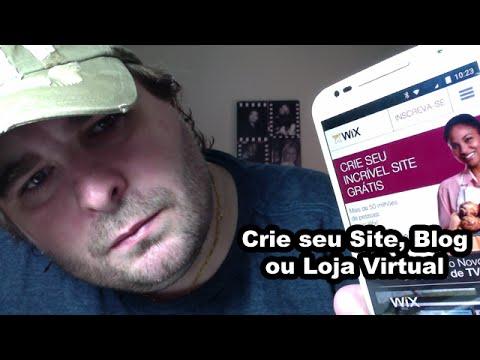 Wix - Plataforma Para Criação De Siteleri E Lojas Virtuais