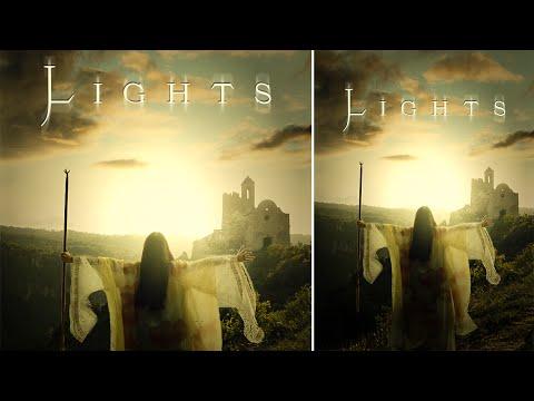 Photoshop Tutorial | Film Afiş Tasarımı | Işıklar
