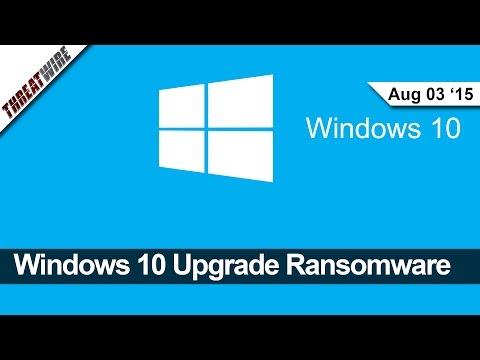 Terfi Ettirmek Pencere Eşiği 10 Ransomware, Thunderstrike 2 Mac Kesmek, Yeni Tor Anonim Attack - Threatwire