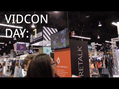 Vıdcon Vlog Gün: 1