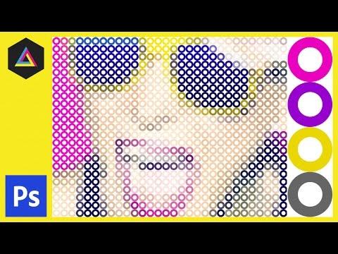 Yüzük Piksel Etkisi Adobe Photoshop