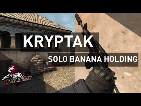 """Cs:go - Kryptak """"solo Muz Holdıng"""" 4 K M4A1-S/p2000"""