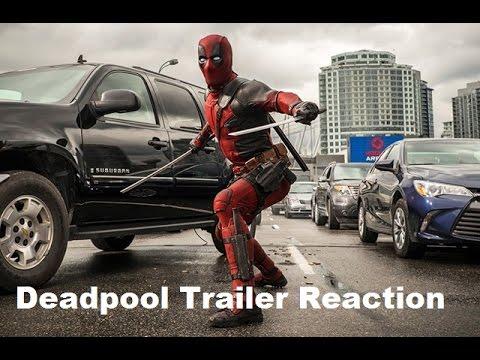 Deadpool Kırmızı Bant Römork Tepki