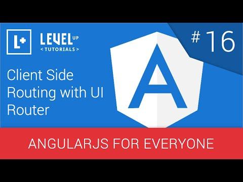 #16 - Uı Yönlendirici - Angularjs Herkes İçin Bir Yönlendirme İstemci Tarafında