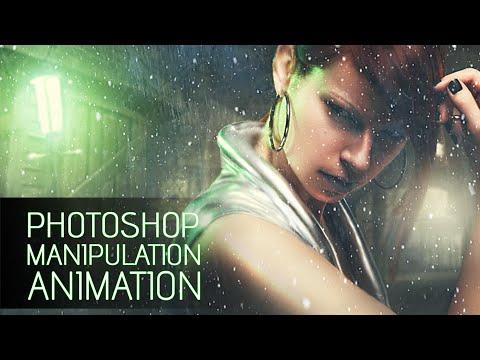 Photoshop İşleme Video Animasyon Efektleri Öğretici (Bölüm 1)