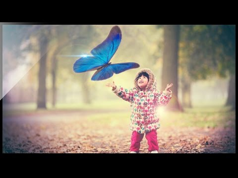 Photoshop Tutorial - Manipülasyon Kelebek Etkisi