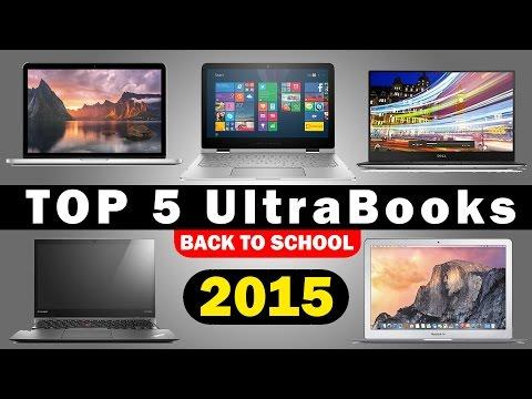 En İyi 5 Ultrabooks (2015) Okula Geri İçin