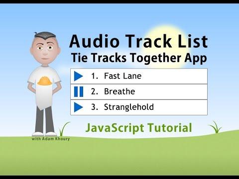 Ses Çalma Listesi Oyun Düğmeleri Javascript Programlama Eğitimi