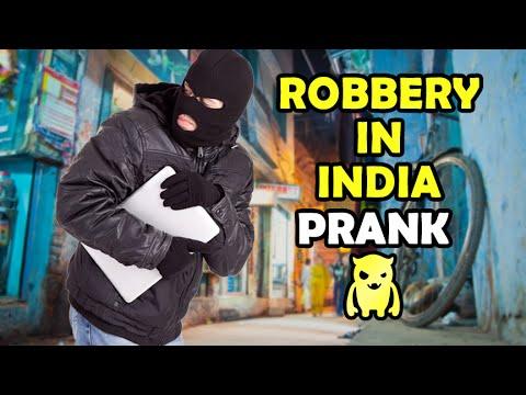 Hindistan Eşek Şakası - Ownage Pranks Çılgın Soygun