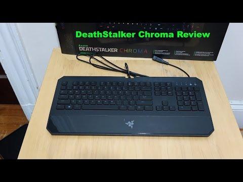 Razer Deathstalker Chroma İnceleme