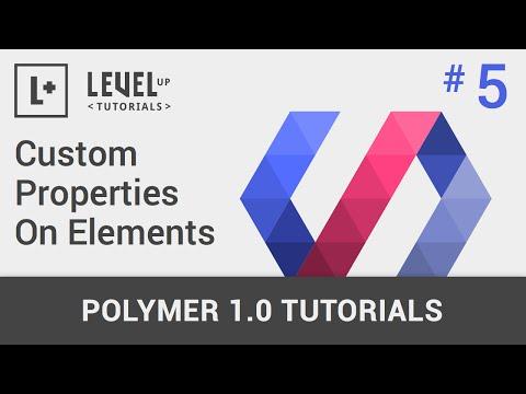#5 - Polimer 1.0 İle Öğeler Üzerinde Özel Özellikleri