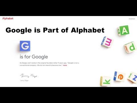 Google Bir Alfabe Şirket