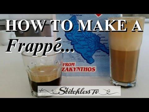 Nasıl Mükemmel Bir Frappe Buzlu Kahve Yapmak