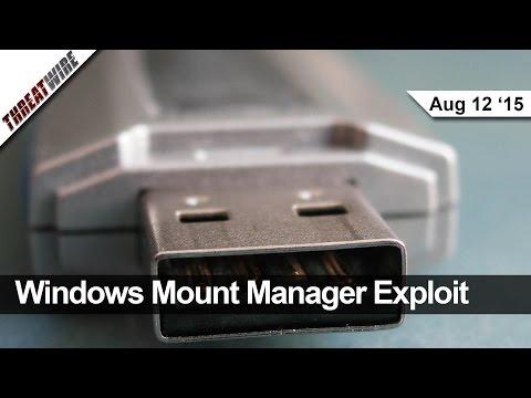 Windows Yöneticisi Yararlanma Mount, Kare Okuyucuların Kesmek, Volkswagen Sessizliği Araştırma - Tehdit Tel
