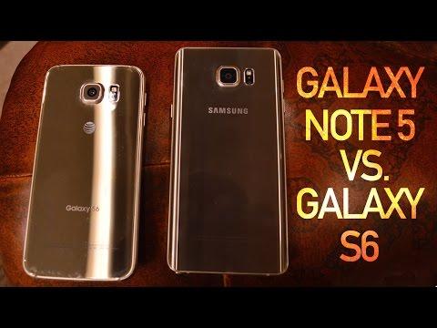 Galaxy Not 5 Vs Galaxy S6: Büyük Eşit İyi Olur Mu?