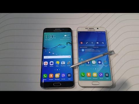 Samsung Galaxy Not 5 Vs Galaxy S6 Edge Plus