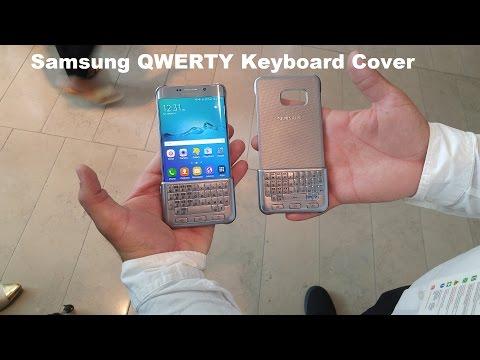 Samsung Qwerty Klavye Kapak Eller [S6 Edge +, Not 5, S6 Ve S6 Kenar]