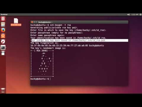 Linux Eğitimi - 15 - Yeni Başlayanlar İçin Ssh Anahtar Kimlik Doğrulaması