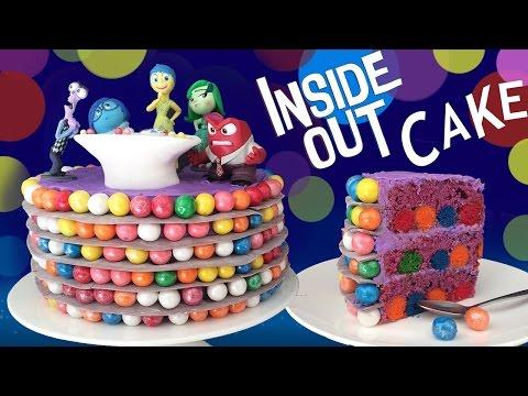 Out Bu Ann Reardon Disney Pixar Film Kek Pişirmeyi Kek