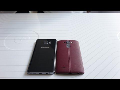 Samsung Galaxy Not 5 Vs Lg G4