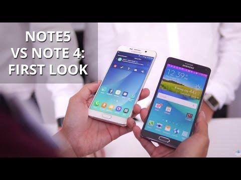 Samsung Galaxy Not 5 Vs Samsung Galaxy Not 4: İlk Bakış