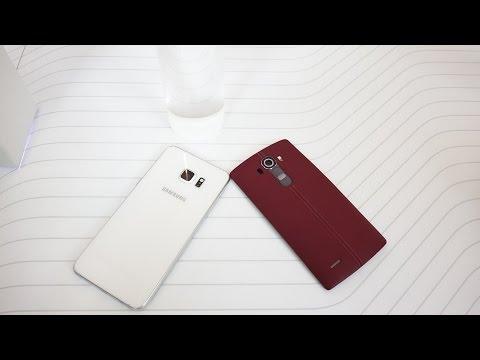 Samsung Galaxy S6 Edge Plus Vs Lg G4