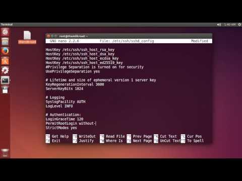Yeni Başlayanlar - 16 - Sakatlar Şifre Giriş İçin Linux Eğitimi