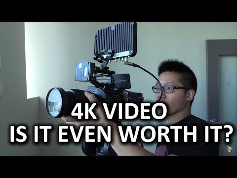 4 K Video - Buna Değer Değil Mi?