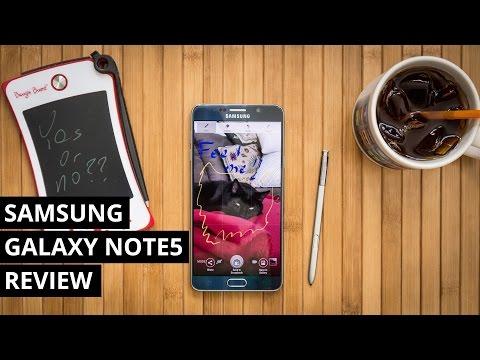 Samsung Galaxy Note5 Bir Daha Gözden Geçirme