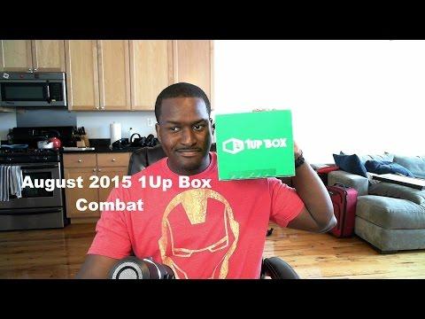 Ağustos 2015 Unboxing 1Up Kutusu: Mücadele