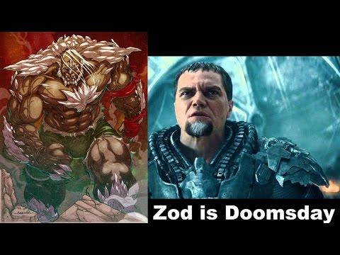 General Zod Batman V Superman Doomsday =!!!