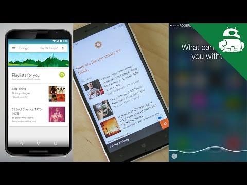 Siri Vs Google Şimdi Vs Cortana