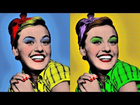 Photoshop: Nasıl Bir Warhol Tarzı, Pop Art Portre Fotoğraf Yapmak!